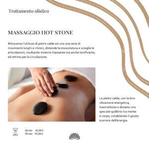 Trattamento Olistico  Massaggio Hot Stone