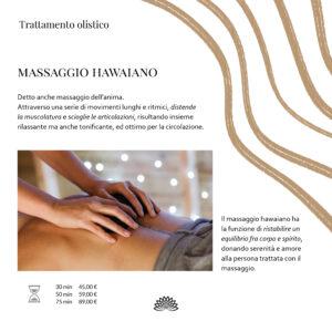 Trattamento Olistico Massaggio Hawaiano